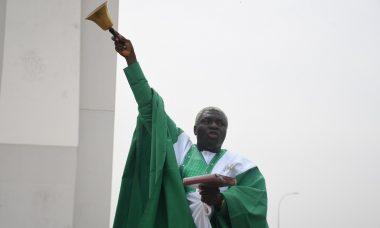 Evangelist Peter Kolajo (Omo-Jesu] at the City Gate, Abuja 3